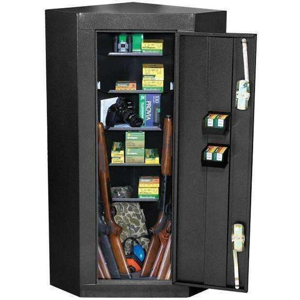 Homak Security - First Watch 10 Gun Corner Steel Security Cabinet - HS30136010