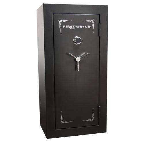Homak Security - First Watch Blue Ridge Series – 24+6 Gun - 45min Fire Gun Safe - Electronic Lock