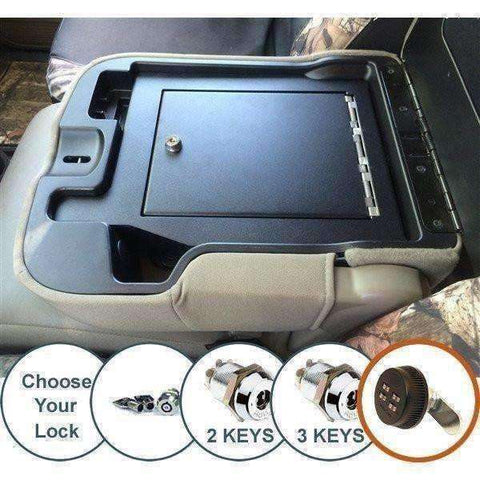 Lock'er Down Safes - Armrest Safe 2006 - 2012 Dodge Ram 1500, 2500 & 3500 - Model LD2029