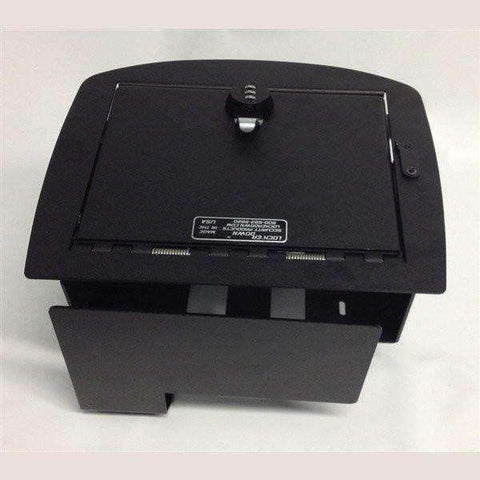 Lock'er Down Safes - Console Safe 2007 - 2014 Cherolet Silverado, Suburban, Tahoes, GMC Yukon Sierra with USB - LD2011X