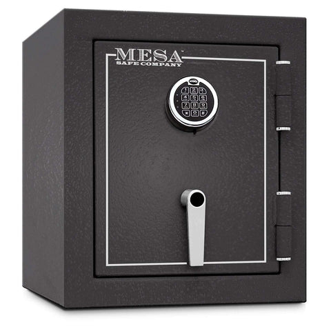 Mesa Safes MBF1512E - 1.7 cu ft All Steel Burglary & Fire Safe with Electronic Lock