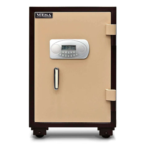 Mesa Safes MF75E - 2.1 cu ft All Steel U.L. 1 Hour Class 350 Fire & Impact Rating - Electronic Lock