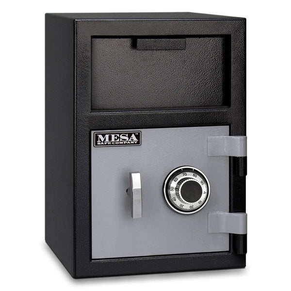 Mesa Safes MFL2014C - 0.8 cu ft All Steel Depository Safe with Combination Lock