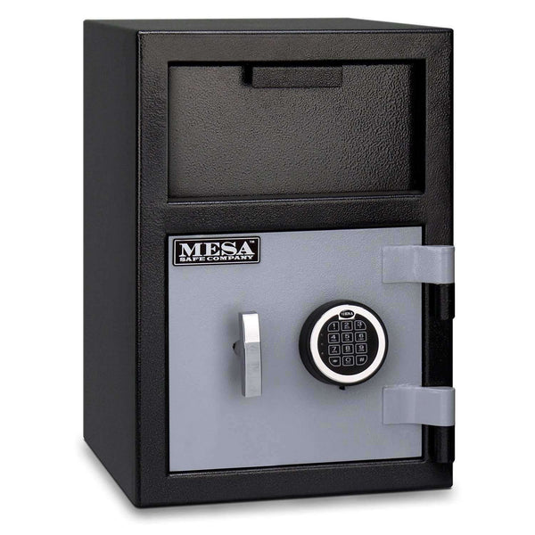 Mesa Safes MFL2014E - 0.8 cu ft All Steel Depository Safe with Electronic Lock