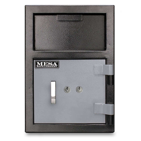 Mesa Safes MFL2014K - 0.8 cu ft All Steel Depository Safe with Key Lock