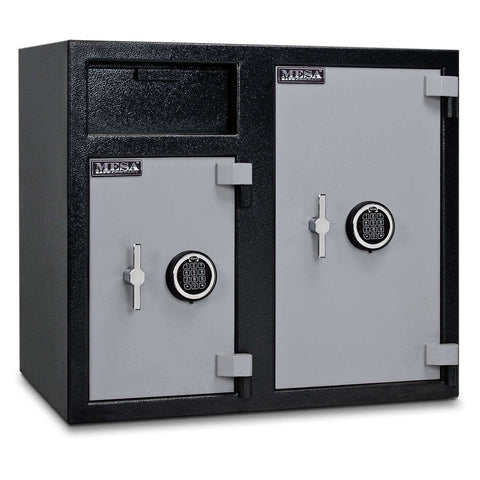 Mesa Safes MFL2731EE - 6.7 cu ft All Steel Depository Safe with Two Electronic Locks