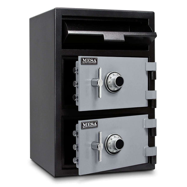 Mesa Safes MFL3020CC - 3.6 cu ft All Steel Depository Safe with Two Combination Locks