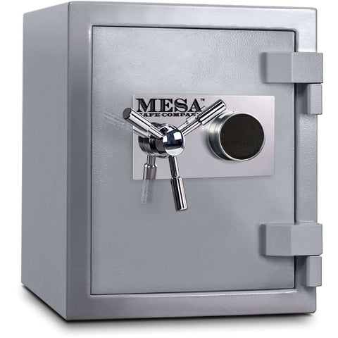 Mesa Safes MSC1916C - 1.3 cu ft All Steel High Security Burglary Fire Safe with Combination Lock