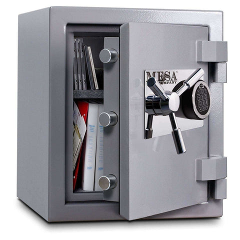 Mesa Safes MSC1916E - 1.3 cu ft All Steel High Security Burglary Fire Safe with Electronic Lock
