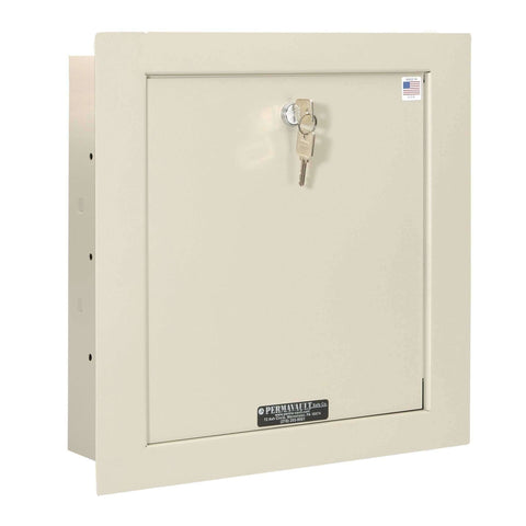Perma Vault: EW-1000-4 In-Wall Safe (15-3/4″ x 15-3/4″ x 3-1/2″)