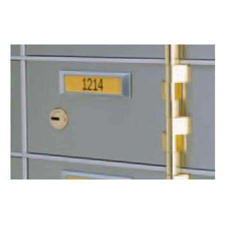 SoCal - Bridgeman Safes AX Single Nose Safe Deposit Box AXSN-21