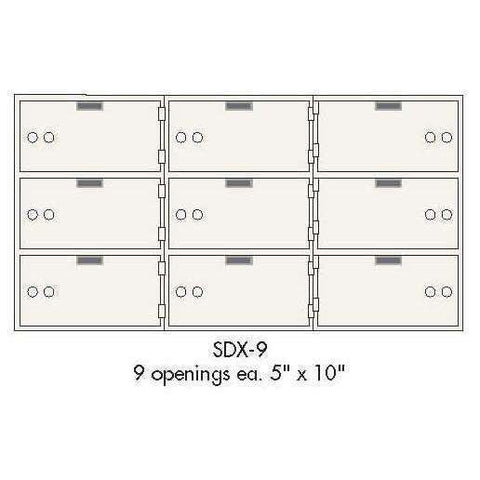 SoCal - Bridgeman Safes SDX Safe Deposit Boxes SDX-9