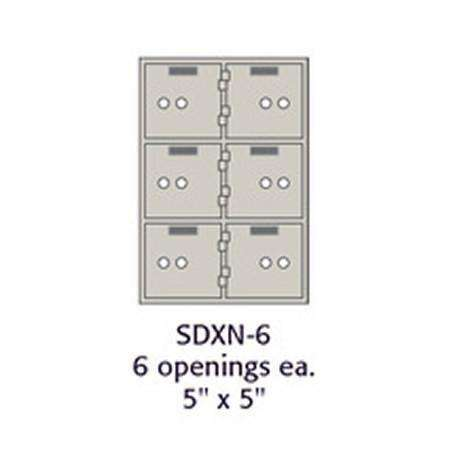 SoCal - Bridgeman Safes SDXN Safe Deposit Boxes SDXN-6