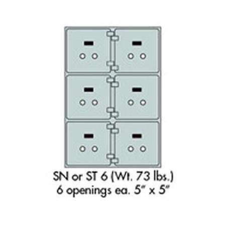 SoCal - Bridgeman Safes SN Safe Deposit Box SN-6