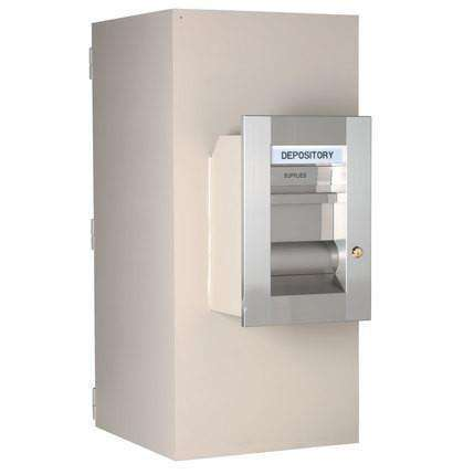 SoCal - Bridgeman Safes TL-15 Missouri Mule Safe Night Depository Head & Receiving Chest - ER-7435-M