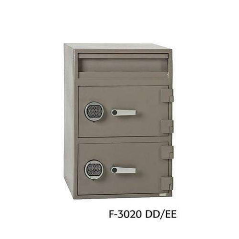 SoCal Safes B-Rate International Fortress Cash Management Depository Safe - 2 Dial Locks F-3020DD/CC