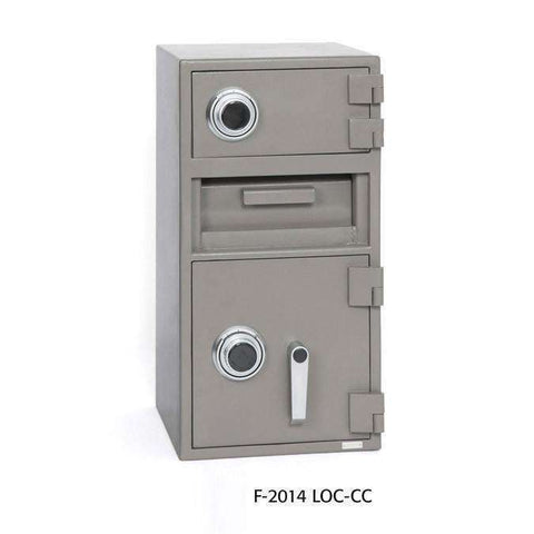 SoCal Safes B-Rate International Fortress Cash Management Depository Safe (Key Lock) F-2014K/LOC