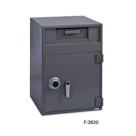 SoCal Safes B-Rate International Fortress Cash Management Depository Safe - Key+Dial Locks F-2820CK