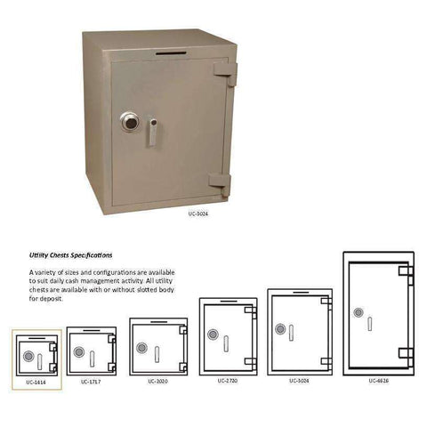 SoCal Safes B-Rate Safe and Utility Chest UC-1414