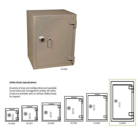 SoCal Safes B-Rate Safe and Utility Chest UC-4626C
