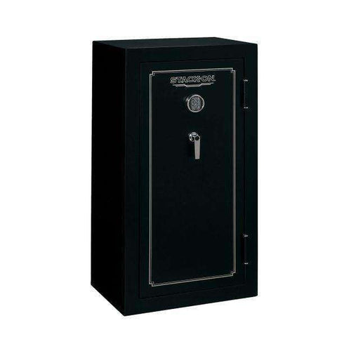 Stack-On FS-Series - 24-Gun 30 Minute Fire Rated Safe - Electronic Lock - Matte Black – FS-24-MB-E