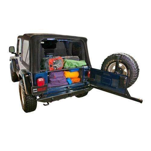 Tuffy - 1997-2006 TJ Wrangler Security Tailgate Enclosure - T-296