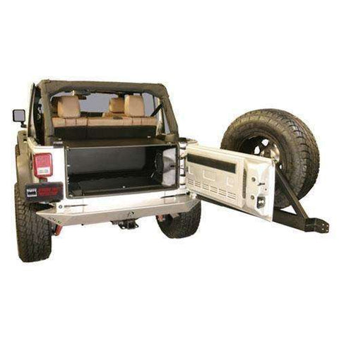 Tuffy - 2011+ JK Unlimited Security Tailgate Enclosure - T-299