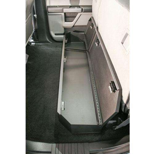 Tuffy - 2015+ Ford F-Series SuperCrew Under Rear Seat Lockbox - T-316