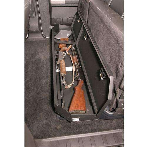 Tuffy - Ford F-250 & F-350 Crew Cab Under Rear Seat Lockbox - T-309