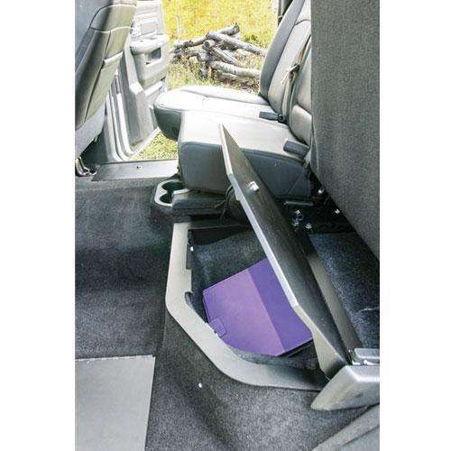 Tuffy - Ram Rear Split-Bench Underseat Storage Security Lid - T-312