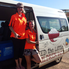 Feed The Little Children Broome Volunteers l Ruby and Oliver Jewellery Feeds Hungry Kids l Conscious Ethical Shopping