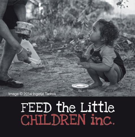 Feed The Little Children l 25% of all Ruby and Oliver purchases donated l The Courthouse Collection Pearl Gallery Broome