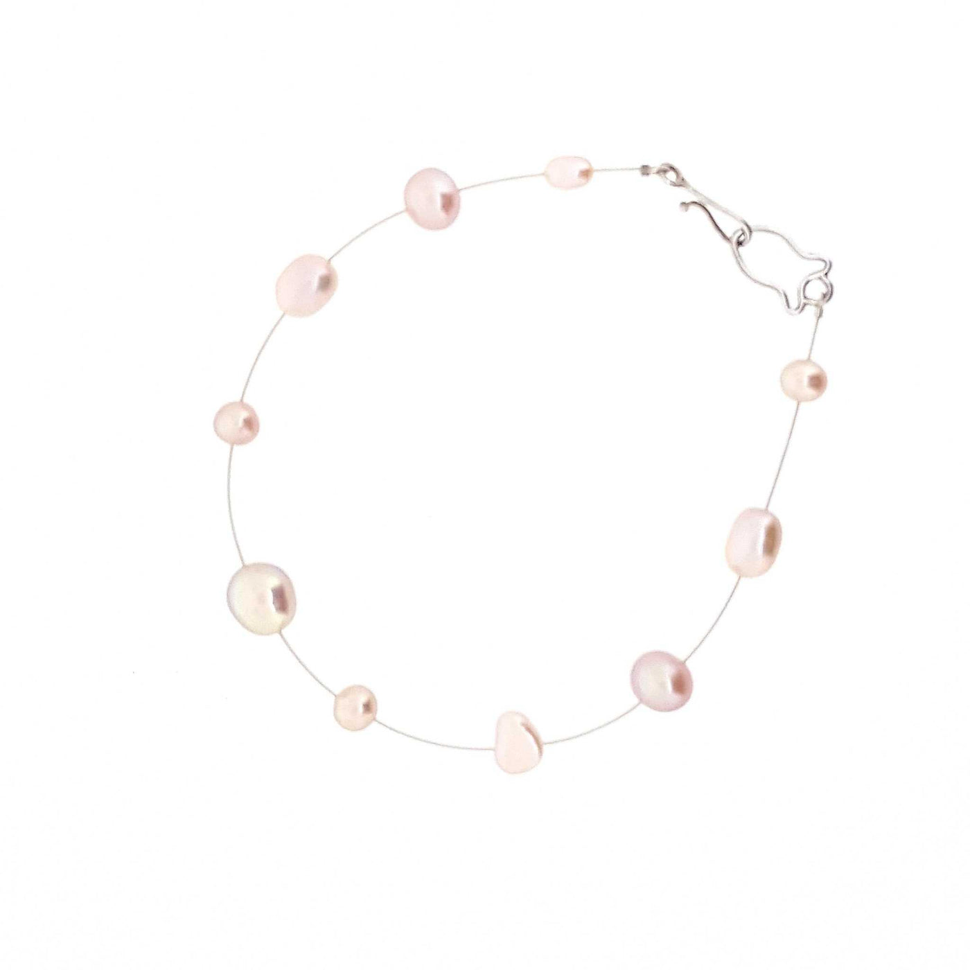 Pearl Bracelet 'Hailey Special' Pink - The Courthouse Collection