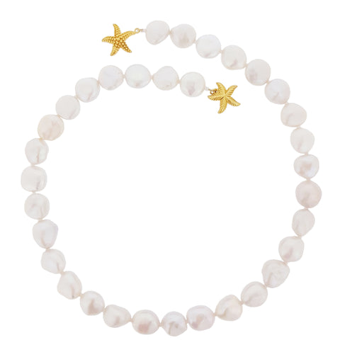 Pearl Necklace - Freshwater Keshi Classic