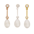 Pearl Earrings 'After 8' - The Courthouse Collection