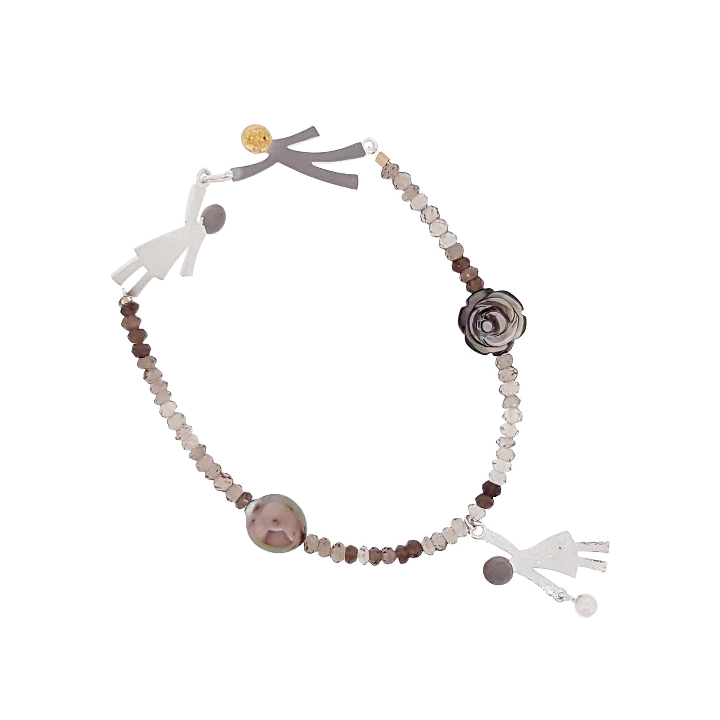 Ruby & Oliver Bracelet 'Ruby Girl' - The Courthouse Collection