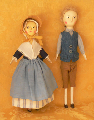 The Delight of Dressing Dolls