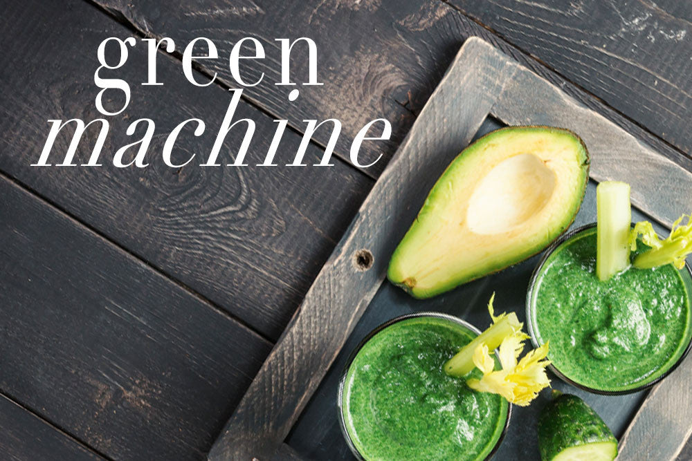 Be A Green Machine