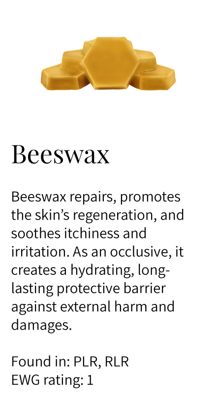 beeswax, regenerating, repairing, protective barrier, health, soothing, itchiness, irritation, occlusive, Pure Lip Restoration