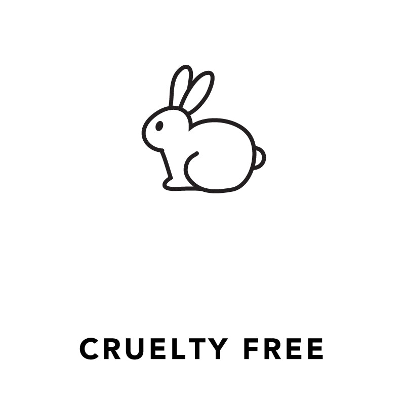 Cruelty free, bunny, rabbit, icon, ethical