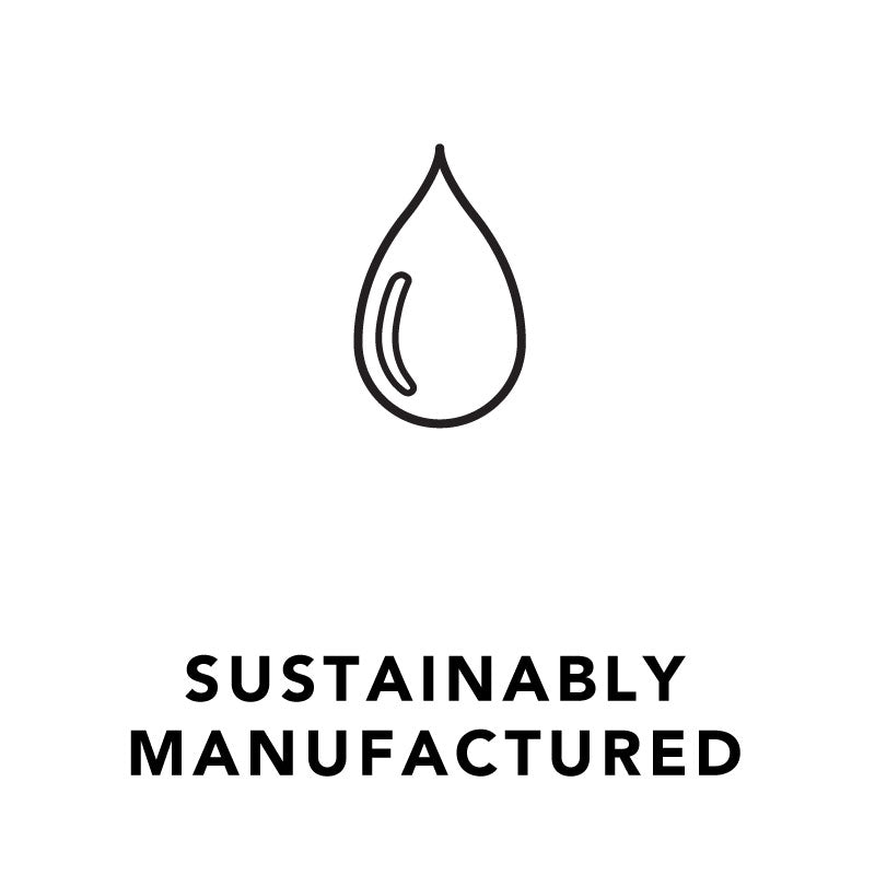 Akar Skin, sustainably manufactured, water drop icon, Tibetan inspired skincare