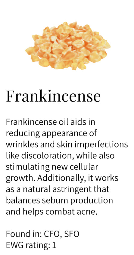 frankincense oil, acne, sebum control, reduce wrinkles and lines, treats discoloration, stimulate growth, astringent, face oils