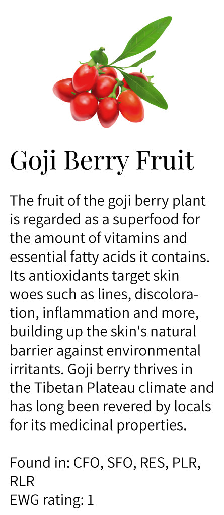goji berry fruit extract, vitamins, antioxidant, key ingredient, essential fatty acids, oleic acid, Tibetan Plateau, miracle berry