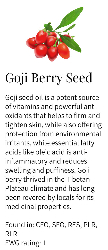 goji berry seed extract, vitamins, antioxidant, key ingredient, essential fatty acids, oleic acid, Tibetan Plateau, miracle berry