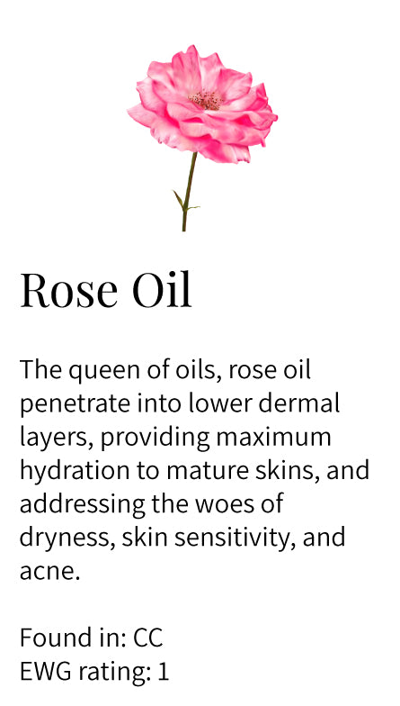 Rose Oil, hydrating, nourishing, mature skin, sensitive skin, Clarify Cleanser