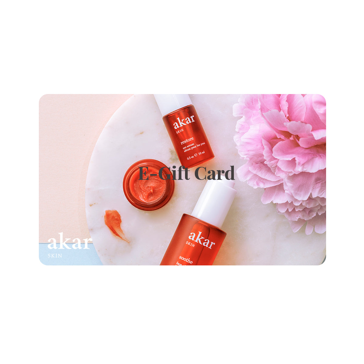 akar skin, luxury, Tibetan inspired skincare, clean beauty, digital gift card coupon