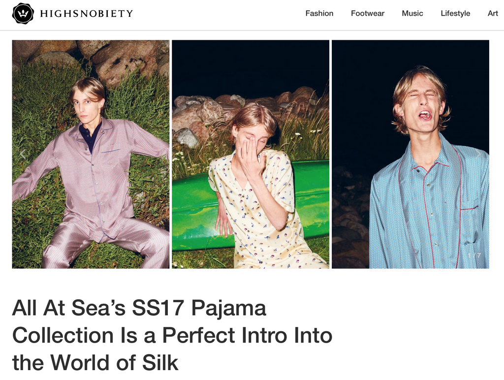 Highsnobiety feature on the SS17 Collection