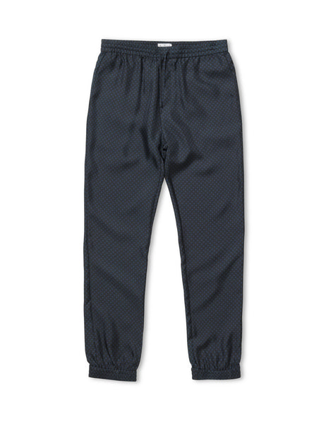 Sport Square Silk Tracksuit Trousers