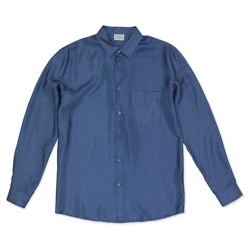 Blue Armor Mens Shirt - All At Sea Cph