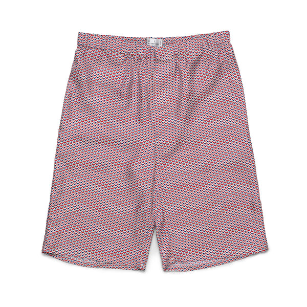 French Wave Silk Shorts